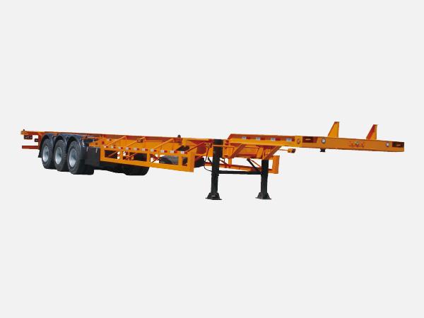 集装箱平板运输半挂车
